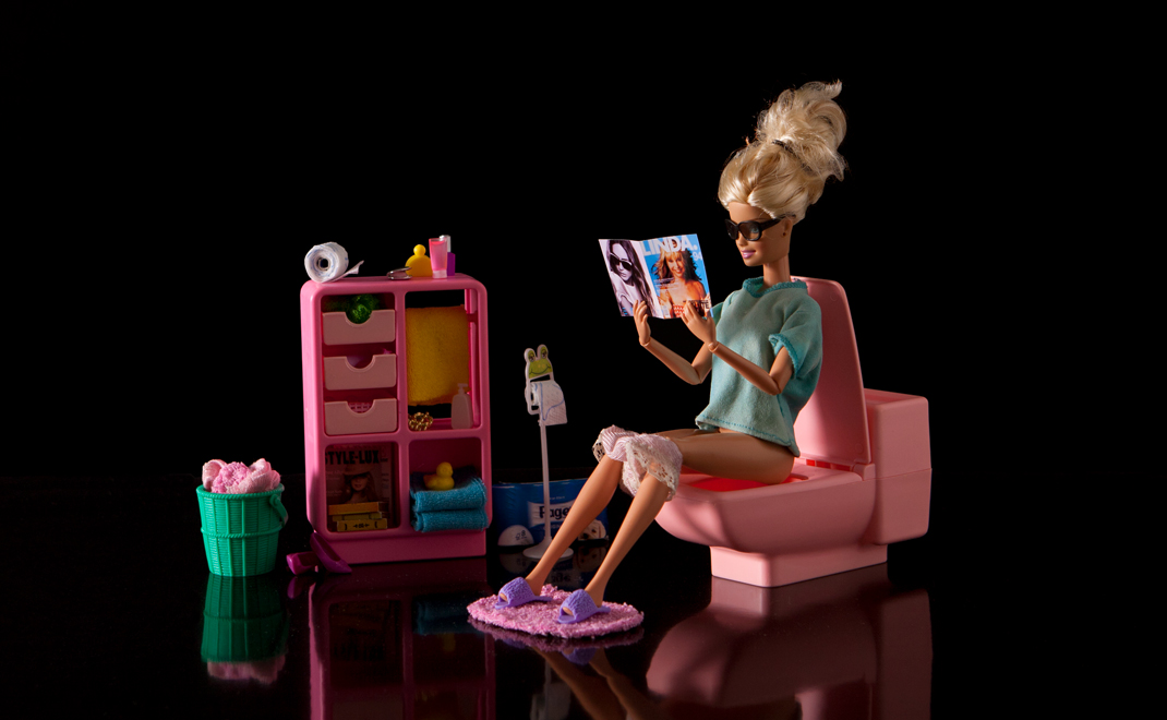 Photography series, Barbie!